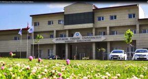 Erzurum Teknik Üniversitesi Bölümleri Taban Puanları, Başarı Sıralamaları ve Kontenjanları